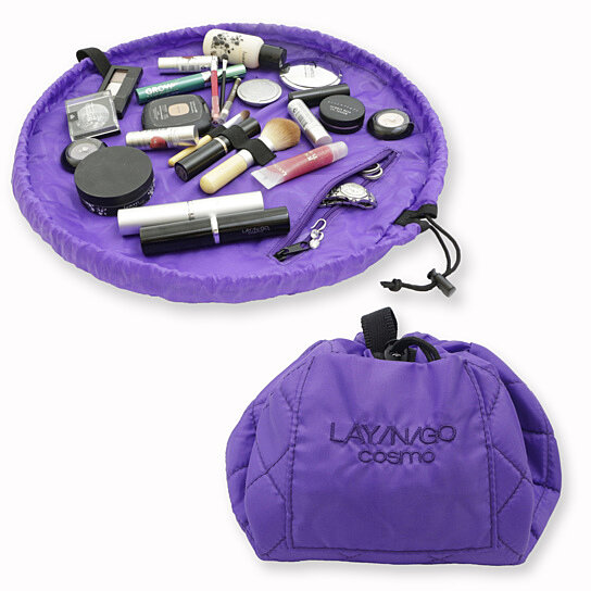 Buy Lay N Go Cosmo Purple Cosmetic Bag By Lay N Go On Opensky