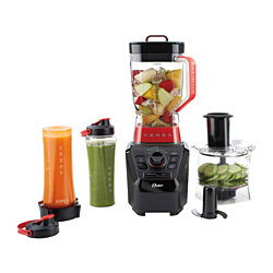 New Oster Versa Performance Blender with Food Processor and Blend-N-Go Accessori