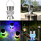 Waterproof Solar Rotatable Outdoor Garden Camping Hanging LED Light Diamond Lamp lightfan 874