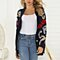 Women V-Neck Casual Button Long Sleeve Knitted Sweater Loose Cover Up Cardigan lightfan 662