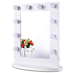Hollywood Vanity Makeup Mirror with Lights Cosmetic Light Bulbs