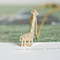 18K Gold Plated Tiny Giraffe Necklace