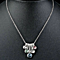 5 Color Austrian Crystal Pendant Necklace