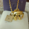 Chunky Elephant  18k Gold or Silver Plated Necklace With or Without Initial Charm