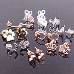 Dainty Stud Earring Collection
