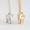 Tiny Elephant Necklace - Available in Silver or Gold