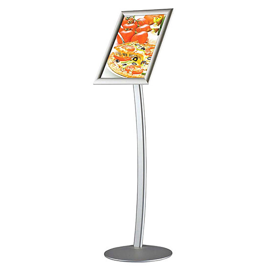17 Best Images About Transfer Size Placement On: Buy Curved Sign Holder 11 X 17 Poster Size Silver
