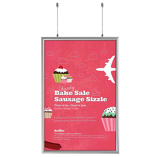 Buy Double Sided Snap Frame 24 x 36 Poster Size 1 inch ...