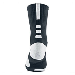 Briefly Dri-Fit Athletic Sports Compression Socks (White/Black)