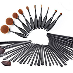 Briefly Ultimate Hollywood Makeup Brush Set ( 34 units)