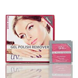 Gel Polish Remover Wraps - Rose Scent (200-Count)