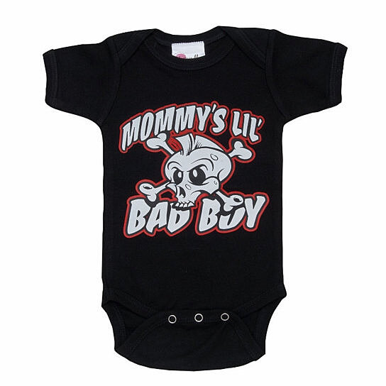 Buy Funny Baby Clothes Mommy s Little Bad Boy Baby Creeper