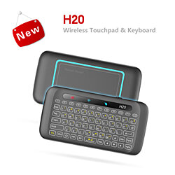 H20 Wireless Keyboard Backlight Touchpad Mouse Remote Control Android Smart TV Box/133
