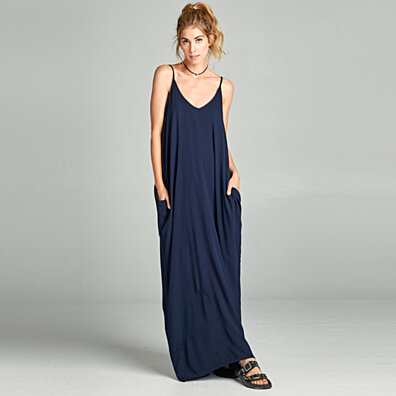 Harem Maxi Dress in 3 Colors