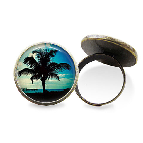 buy palm tree ring by lperrydesigns on opensky