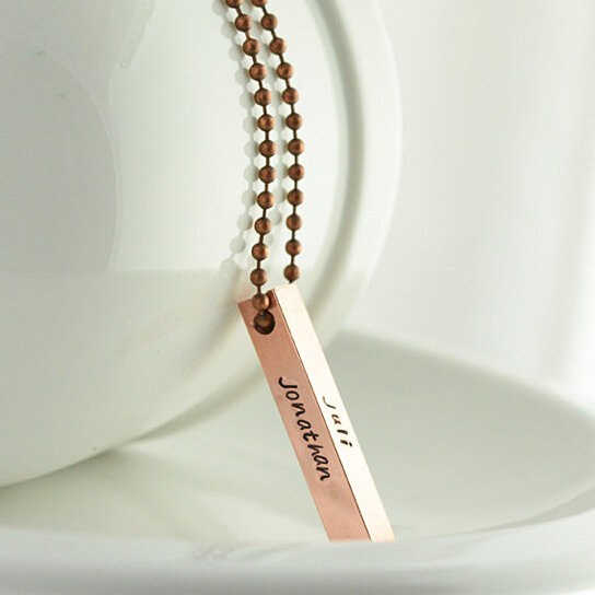 buy personalized sted pendant necklace gift for