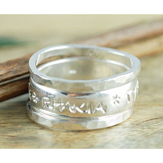 buy stackable mothers ring sterling silver rings