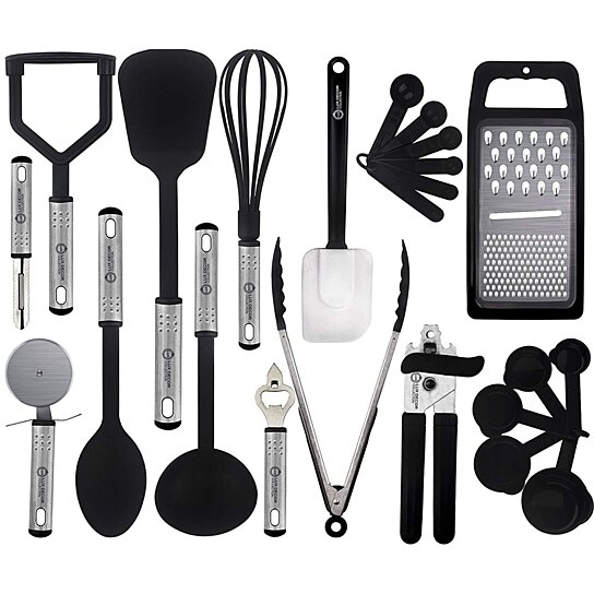 Buy Cooking Utensils Set U2013 23 Pieces U2013 Nylon Kitchen Utensils/Gadgets/Cookware  Sets U2013 By Lux Décor Collection By Lux Decor Collection On OpenSky
