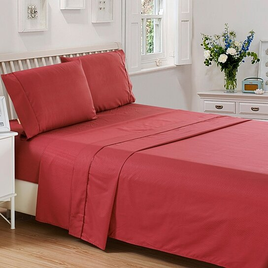 9d83fb82fd Buy Lux Decor Collection Checkered Collection Deep Pocket 1800 Series Bed  Sheet Set by Lux Decor Collection Service on Dot & Bo