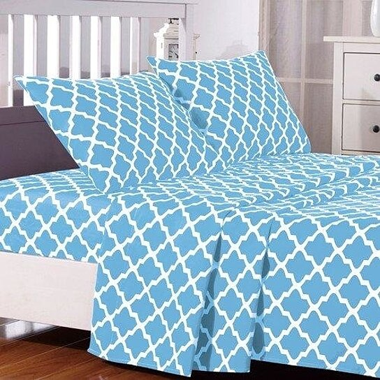 Charmant Trending Product! This Item Has Been Added To Cart 23 Times In The Last 24  Hours. Quatrefoil Pattern Bed Sheets ...