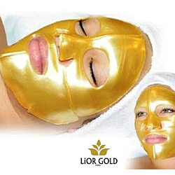 Lior Gold 24K Rejuvenating Bio-Collagen Facial Mask (6 pieces)