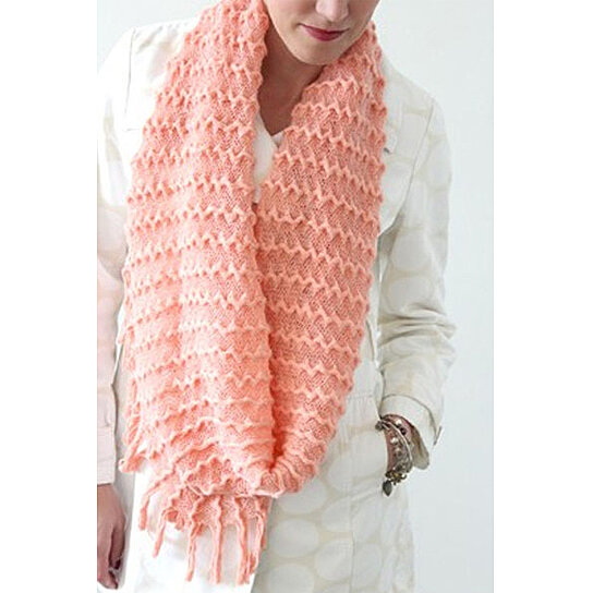 Accessories Unlimited Knitting Supplies : Buy knit infinity scarf with tassels by lynallan unlimited
