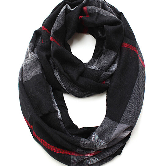 Buy Infinity Scarf Designer S Inspired Black Color