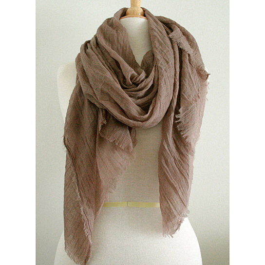 Buy Spring Summer Fall Scarf In Stunning Fall Color Light