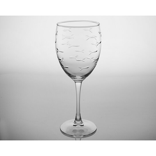 Buy school of fish white wine glass set of 4 by maison for White wine with fish