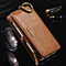Genuine All- In- One Multifunction Leather Card Wallet Zipper Case Cover For iPhone 6/7/SPlus (4 Colors)