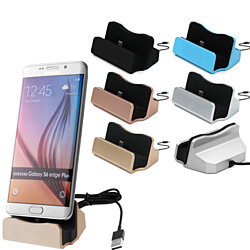 Lightning Charging Dock Station + cable for Android Phone Samsung Huawei LG HTC and Other Smart Phones.