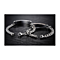 STAINLESS STEEL BABY SWEETY MY TREASURE COUPLE'S BRACELET PAIR