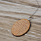 """THE LOVE BETWEEN A MOTHER AND DAUGHTER IS""WOODEN NECKLACE"