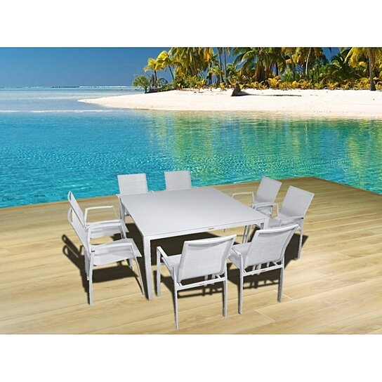 Buy Outdoor Patio Furniture New Aluminum Gray Frosted