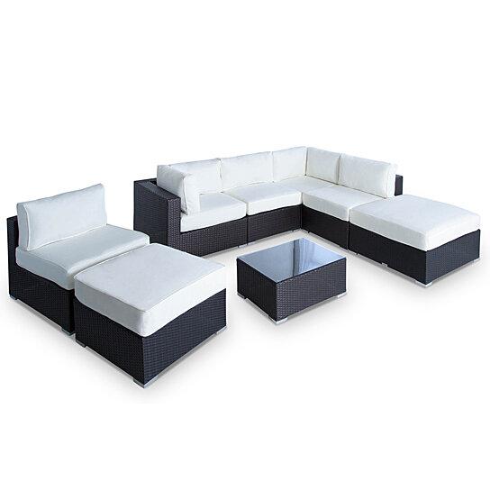 Vilano 8-Pc Outdoor Patio Sofa Sectional Set