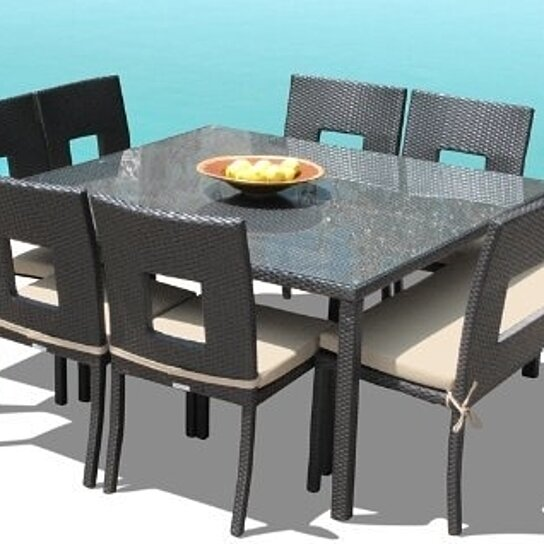 Square Dining Table Chairs Bench