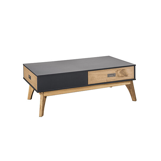 Buy Rustic Mid-Century Modern 2-Drawer Jackie 2.0 Coffee