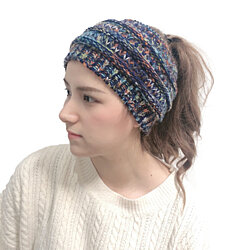 Cable Knit Headband Hat in 8 Colors