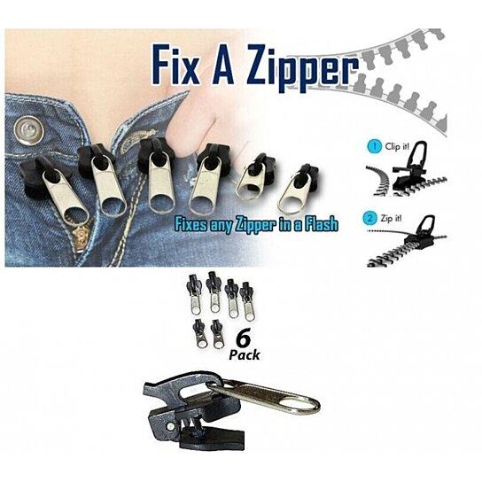 Balance Ball Repair Kit: Buy As Seen ON TV 6Pc Fix A Zipper Zip Slider Rescue