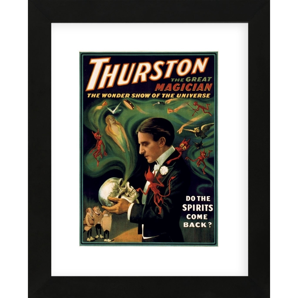 Thurston the Great Magician (Framed) 591dd165c98fc4637f5cc167