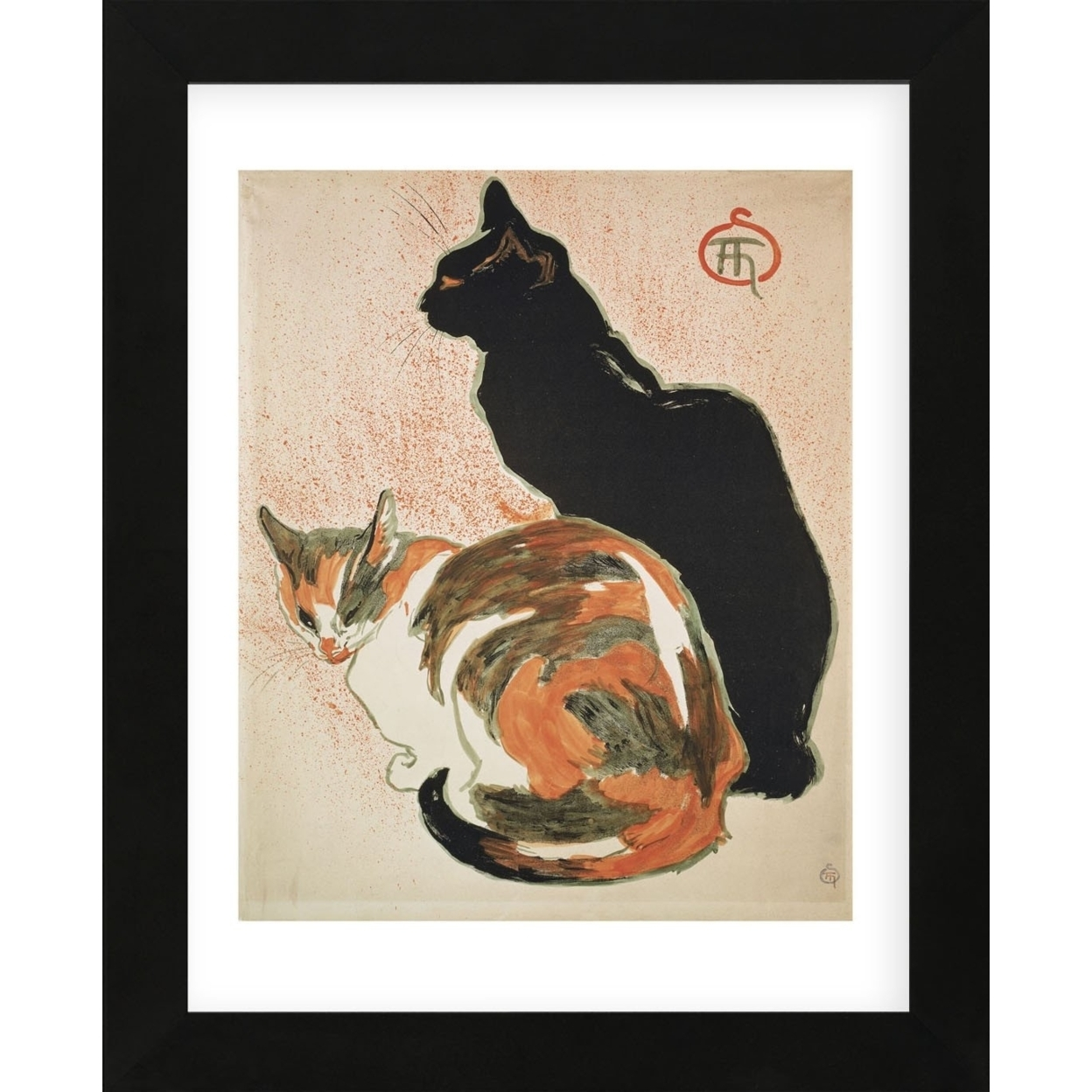 Two Cats, 1894 (Framed) 591dd182c98fc4637f5cc628