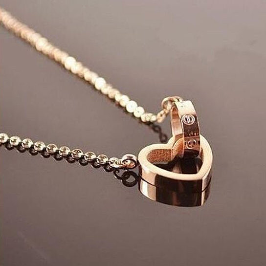 Buy Rose Gold Plated A La Cartier Quot Love Collection Quot By