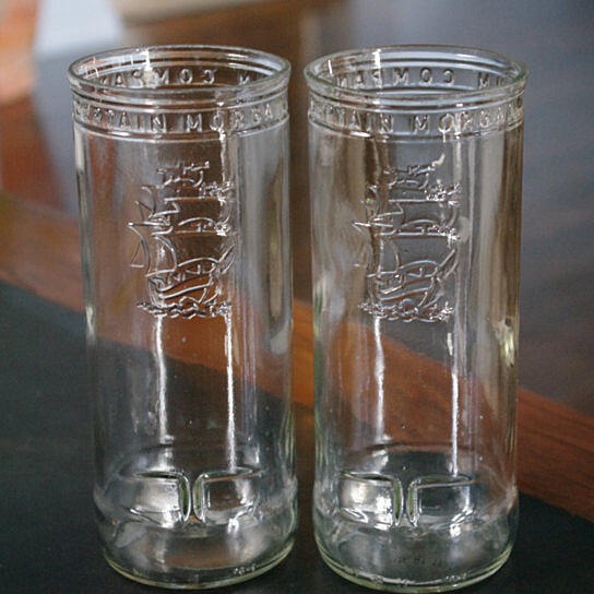 Buy 26 Oz Captain Morgan Bottle Glasses By Melissa S Glass