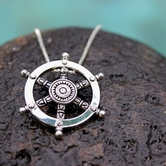 Buy captains dharma wheel pendant by mermaid company on opensky aloadofball Gallery