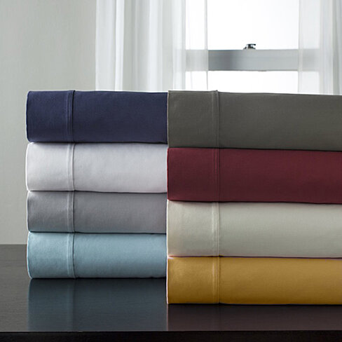 Bamboo 6-Piece Bed Sheet Set in 14 Colors