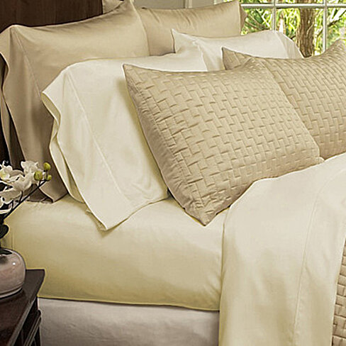 4-Piece Set: Super-Soft 1800 Series Bamboo Fiber Bed Sheets in 12 Colors