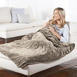 Brookstone Nap® Weighted Blanket