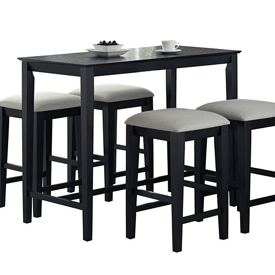 Buy Black Grain 24 X 48 Counter Height Kitchen Table By Michael