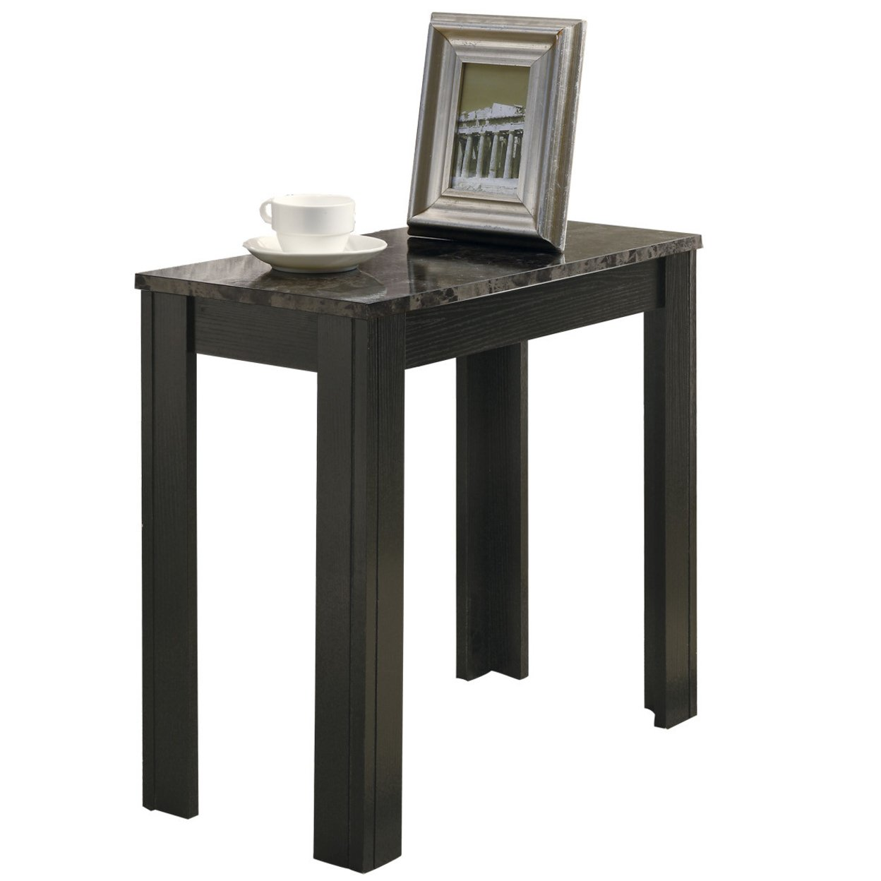 Zingz & Thingz 57072574 White Lacquer Side Table