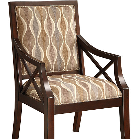 Accent Chair Grey Bench Brown Legs: Buy Brown/Grey Accent Chair By Michael Anthony Furniture